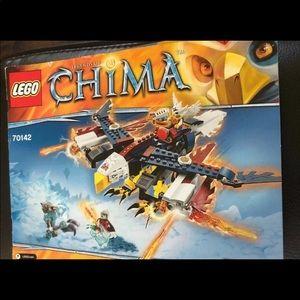 LEGO Chima Instruction Manual ONLY